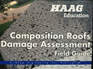 hail damage manual