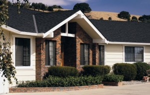Impact resistant shingles roof