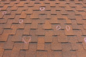 Hail Impacts on Roof Shingles