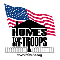 Homes for our Troops Sponsor
