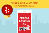 People Love Us On Yelp Award Recipient 2017