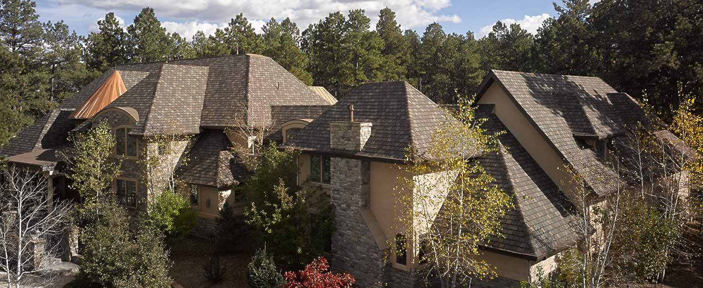 Colorado Springs Home with new roof by Integrity Roofing & Painting