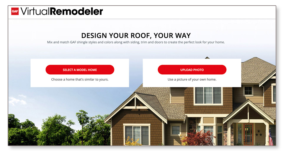 GAF Virtual Remodeler Presented by Integrity Roofing and Painting